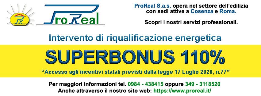 proreal interventi superbonus 110
